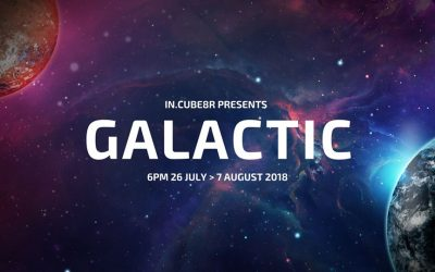 GALACTIC @IN.CUBE8R GALLERY, 26 JULY – 7 AUGUST