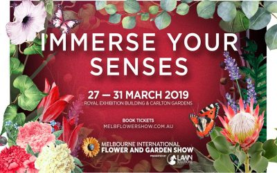 MELBOURNE INTERNATIONAL FLOWER AND GARDEN SHOW, 27 – 31 MARCH 2019 @ ROYAL EXHIBITION BUILDING